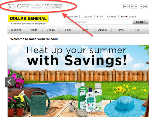 Dollar General Mobile Marketing Campaign