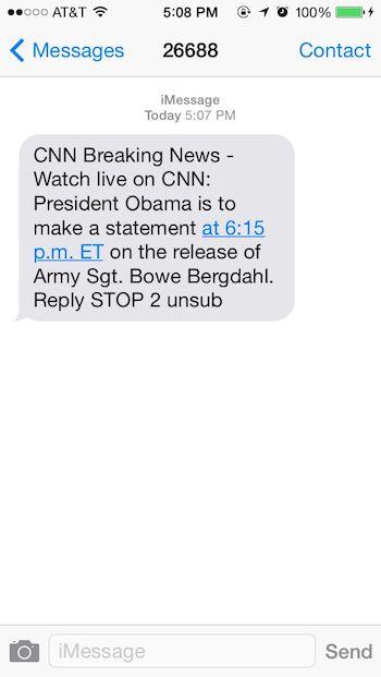news text messaging
