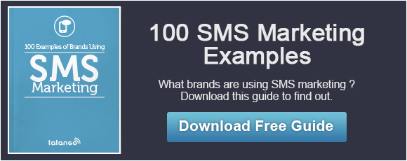 Free Guide to 100 SMS Marketing Examples
