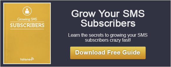 Free Guide to Growing SMS Marketing Subscribers