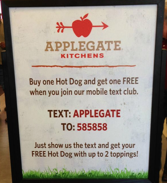 Restaurant advertising examples