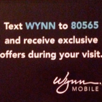 Hotel SMS Marketing Advertising - Wynn Las Vegas