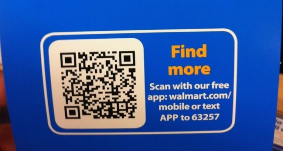 App Text to Download Example - Walmart copy