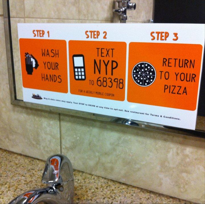Restaurant advertising examples