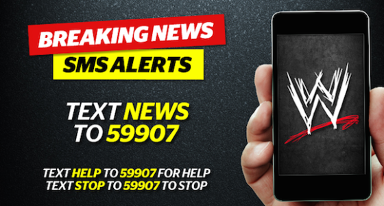 SMS Advertising Example - WWE