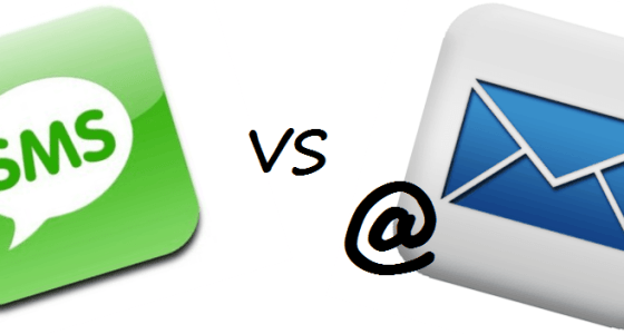 Text Message Marketing vs Email Marketing