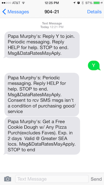 Papa Murphys Marketing