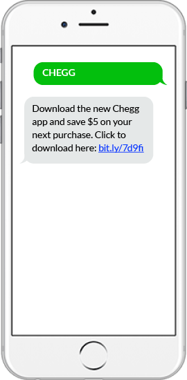 Text Message App Download Example - Chegg