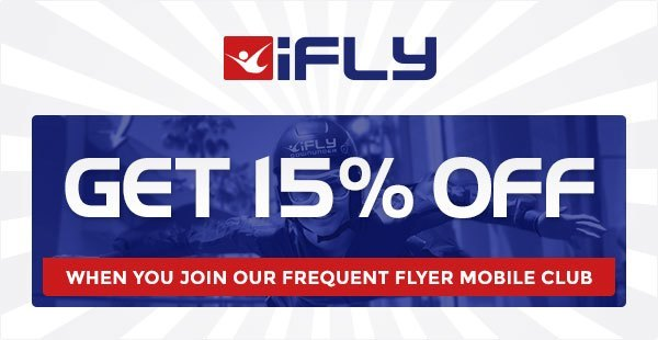 SMS Advertising Example - iFly