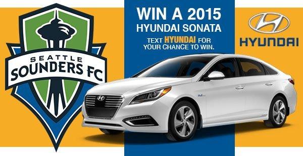 Hyundai SMS Advertising Example