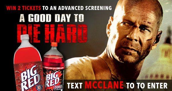 Die Hard SMS Advertising Example