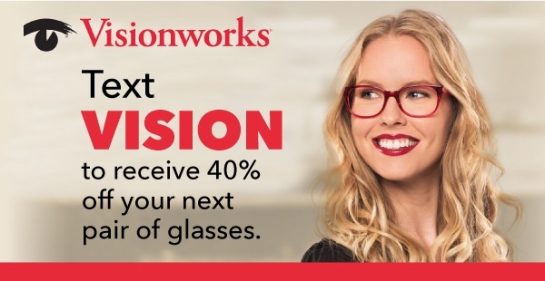Visionworks SMS Advertising Example