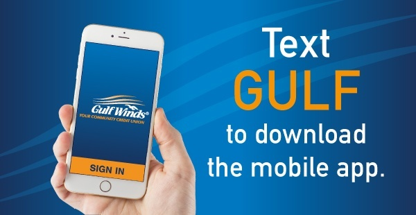 Gulf Winds Bank SMS Advertising Example
