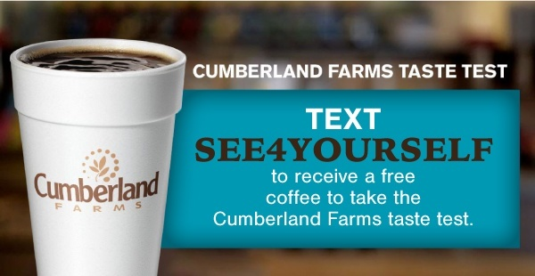 Cumberland Farms SMS Advertising Example