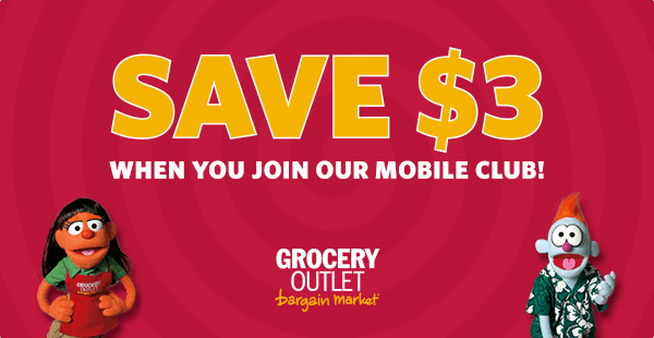 SMS Advertisement - Grocery Outlet
