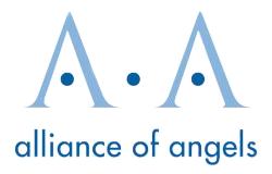 Alliance of Angels Logo - Tatango